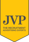 JVPGroup.co.uk The Recruitment Advertising Experts Logo