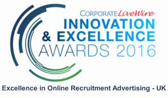 Excellence in Online Recruitment Advertising - Innovation and Excellence Awards 2016 JVP Group