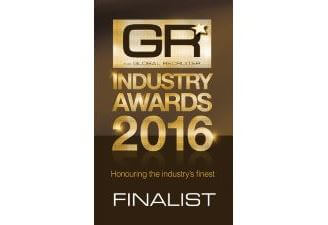 Global Recruiter Industry Awards finalist for Best Newcomer JVP Group