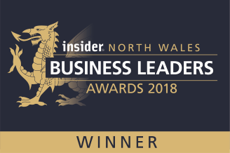 Insider North Wales Business Leaders awards winner Professional Service Business of the Year 2018 JVP Group