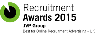 JVP Group Winners of Corporate Vision Recruitment Award 2015 JVP Group