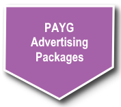Pay as you go advertising packages