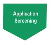 Application screening