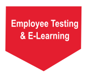 Employee testing e-learning